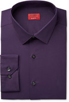 Alfani Slim Fit + Stretch Men's Provence Purple Dress Shirt, Only at Macy's