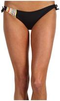 Paul Smith Side Stripe Bikini Bottom (Black/Multicolored Stripes) - Apparel