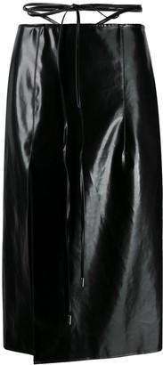 Supriya Lele Waist String Midi Skirt