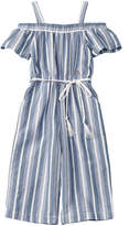 Bebe Girls' Striped Jumpsuit