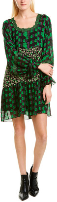 Anna Sui Mod Rosette Shift Dress