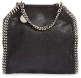 Stella McCartney 'Tiny Falabella' Faux Leather Crossbody Bag - Black