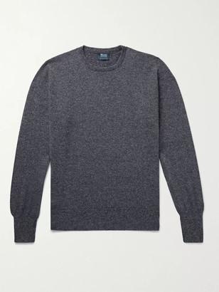 William Lockie Melange Cashmere Sweater