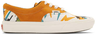 Vans Orange Suede Comfycush Era Sneakers