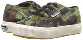 Superga 2750 Synthetic Horse Camo J (Infant/Toddler/Little Kid/Big Kid)