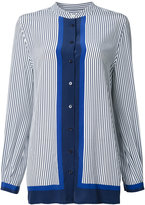 Equipment striped shirt - women - Silk - XS
