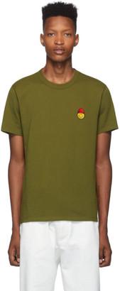 Ami Alexandre Mattiussi Green Smiley Edition T-Shirt
