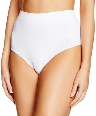 Belly Cloud bellycloud Women's's Model-up Slip Control Knickers White (wei 099) EU 38 ('s Size: M)