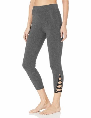 Yummie Women's Skimmer Legging with Leg Detail