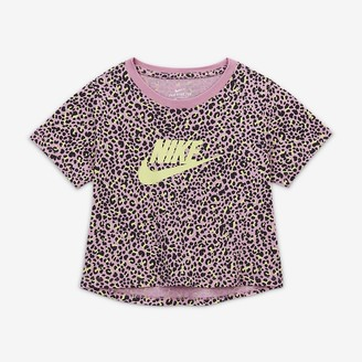 Nike Big Kids' (Girls') Printed Crop Top Sportswear