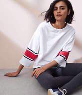 Lou & Grey Sundry Stripes Kimono Sweatshirt