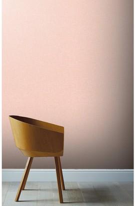 Arthouse Linen Rose Pink Wallpaper