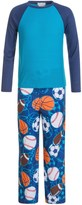 Komar Kids Sports Thermal Pajamas - Long Sleeve (For Kids)
