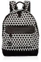 River Island Black Mi-pac Honeycomb Print Backpack