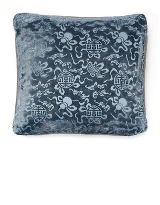 Saved NY Nara Silk-Jacquard Pillow