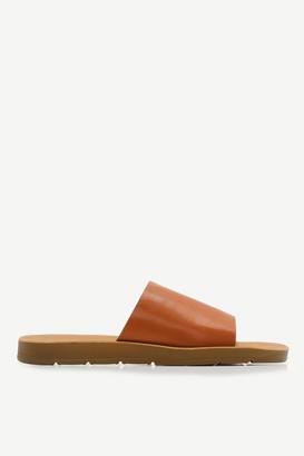 Ardene Faux Leather Slides