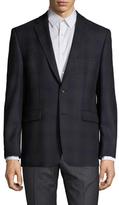 Vince Camuto Wool Plaid Notch Lapel Sportcoat