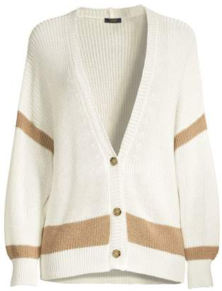 Peserico Relaxed-Fit Crochet Cardigan