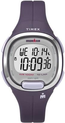 Timex Women's Ironman Transit Purple Resin Strap Watch