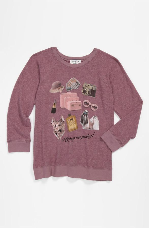 Wildfox Couture 'Granny' Pullover (Big Girls)