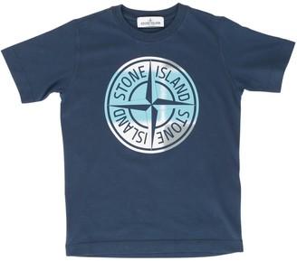 Stone Island Junior S/s T-shirt W/maxi Logo