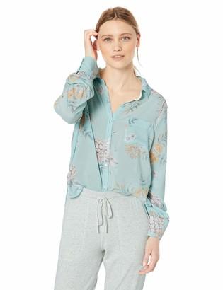 PJ Salvage Women's Cozy Long Sleeve Pajama Top