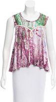 Alexandre Herchcovitch Printed Sleeveless Top