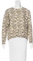 Stella McCartney Abstract Patterned Crew Neck Sweatshirt