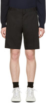 Lanvin Black Slim Shorts
