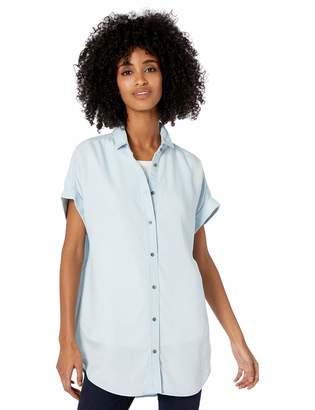 Goodthreads Amazon Brand Women's Tencel Short-Sleeve Tunic