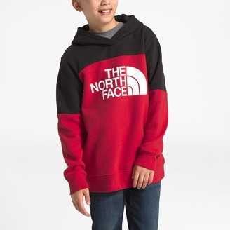 The North Face Metro P/O Hoodie Sweatshirt - Tnf Red / Black