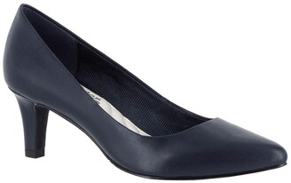 Easy Street Shoes Pointe Pointed Toe Pump - Multiple Widths Available