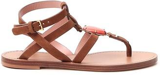 Alberta Ferretti Strapped Sandals