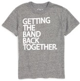 Chaser Toddler Boy's Getting The Band Back Together T-Shirt