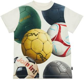 Molo Soccer Balls Organic Cotton T-Shirt