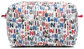 Bonpoint Logo Print Wash Bag