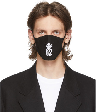 DSQUARED2 Black Leaf Mask