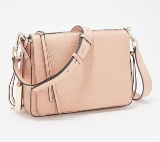 Vince Camuto Lamb Leather Flap Crossbody Bag - Ida