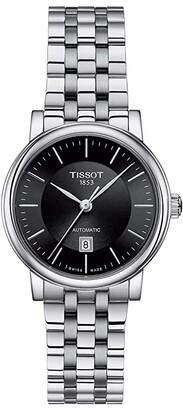 Tissot T-Classic Carson Premium Automatic Lady - T1222071105100 (Black) Watches