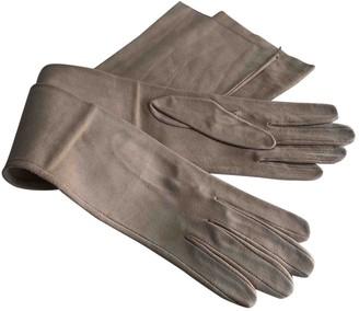 Gucci Pink Suede Gloves