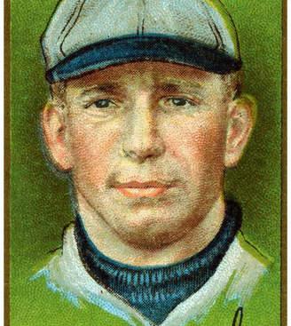 "Thomas Laboratories Lantern Press ""Pittsburgh Pirates, W. Leach, Baseball Card"" Print, 12""x18"""