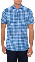 BOSS ORANGE Short sleeve check shirt