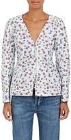 Altuzarra Women's Campion Floral-Jacquard Zip-Front Jacket