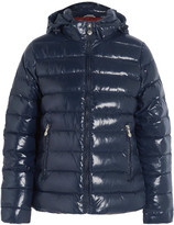 Pyrenex Spoutnic Quilted Glossed-shell Down Jacket - Storm blue