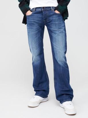 Diesel Zatiny Bootcut Fit Jeans - Mid Wash