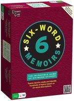 University Games Six-Word Memoirs Game