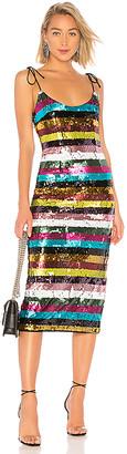 NBD X by Desdemonda Embellished Midi Dress