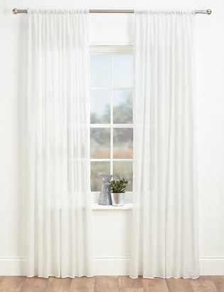 Marks and Spencer Sheer Voile Panel