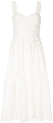 Rebecca Vallance Valentina lace midi dress