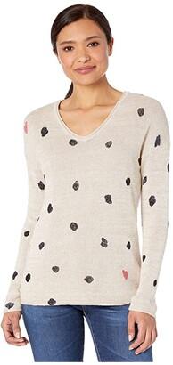 Nic+Zoe Sweetheart Sweater (Neutral Multi) Women's Clothing